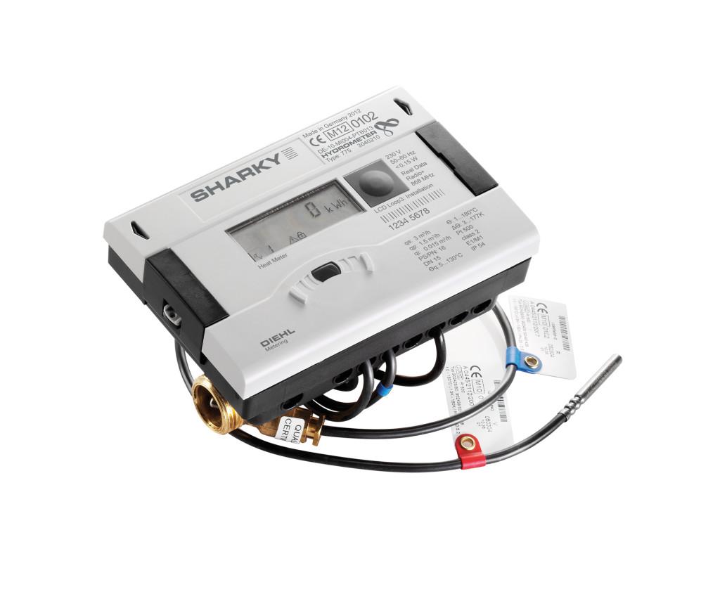 Ультразвуковой компактный теплосчетчик SHARKY 775